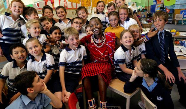 benimin kool teacher visit